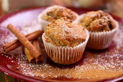 Apple Honey Muffins