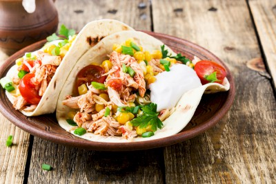 Honey Lime Chicken Tacos